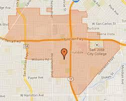 san jose school map find your school cbell union school district