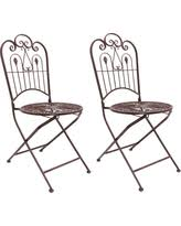 Folding Bistro Chairs Spectacular Deal On Outdoor Hgc Provence Metal Folding Wrought