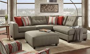 Sectional Sofa With Ottoman Fusion Handmade American Chaise Sectional Sofa With Ottom The