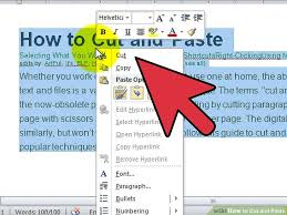 how to cut and paste 13 steps with pictures wikihow