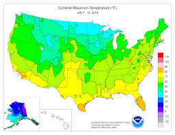 Route 66 Map Temperature Map Us Election Monthly Average Temperatures