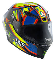 agv motocross helmets agv corsa double face winter test le rossi helmet size sm only