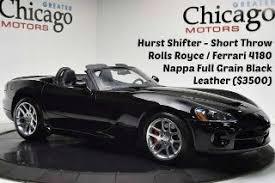 black dodge viper for sale used dodge viper for sale in chicago il edmunds