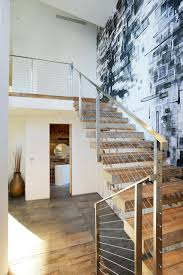 Modern Staircase Wall Design Decorate Stairway Wall Decorating Idea Inexpensive Fancy And