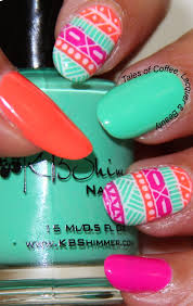 tribal nail art with kb shimmer and moyou london explorer http