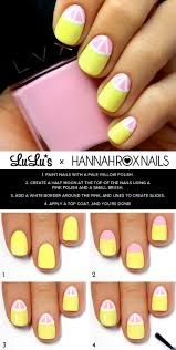 best 25 lemon nails ideas on pinterest cute summer nails cute