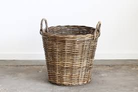 wicker laundry hampers laundry basket naturally cane rattan and wicker furniture