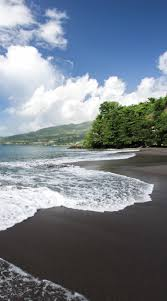 beaches with black sand martinique an utterly unique black sand beach makes this
