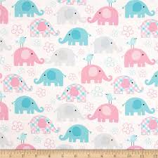child u0027s play elephants pastel discount designer fabric fabric com