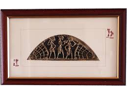 famous dhokra art of india buy framed dhokra artwork craft montaz