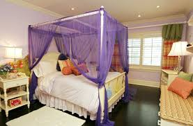 purple curtains for canopy bed elegance curtains for canopy bed