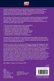 public relations strategy pr in practice amazon co uk sandra