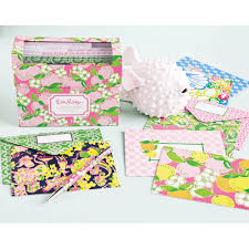 lilly pulitzer all occasion card set 15 lifeguard press lilly