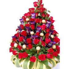 flowers and chocolate flower with chocolate bouquet buy specialty of each city of india