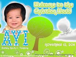 Christening Invitation Card Maker Online F1 Digital Scrapaholic Baptismal Tarpaulin Layout For Sp Mom