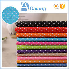 wholesale cheap best dotted custom printed egyptian cotton fabric
