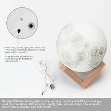 Home Button Decorations by 3d Moon Lamp U2013 Wares For My Home