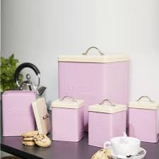 pink kitchen canisters pink bread bin bread bins mince his words