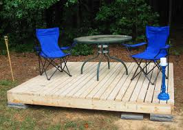 How To Make A Small Bench Simple Floating Deck Decking Couples And Floating Deck