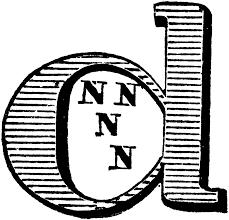 decorative letter d clipart etc