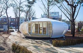 tiny mobile libraries revitalize a corner of seoul