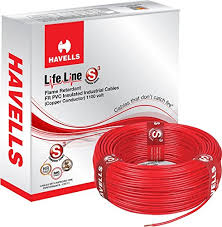 havells lifeline cable whffdnea1x75 0 75 sq mm wire grey amazon