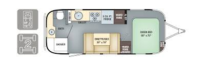 2 Bedroom Travel Trailer Floor Plans Floorplans International Signature Airstream