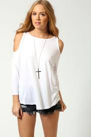 shoulder cut out blouse stunning cut out shoulder top for peek a boo feel designers