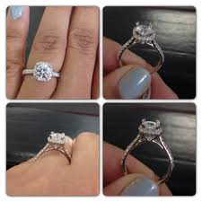 gabriel and co engagement rings calling all with cushion cut halos with a center