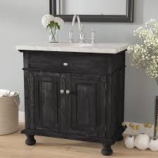 Single Bathroom Vanity With Sink Franklin 35 Single Bathroom Vanity Set Reviews Birch
