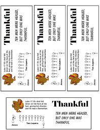 thanksgiving one thankful leper sunday school lesson