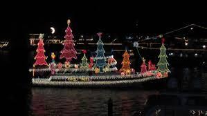 celebration fl christmas lights boat parade of lights tripsmarter com