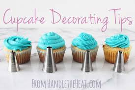 cupcake decorating tips with handle the heat