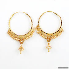 gold jhumka hoop earrings indian gold earrings search jewelry gold
