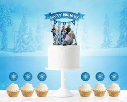 frozen cake topper frozen frozen birthday frozen birthday party