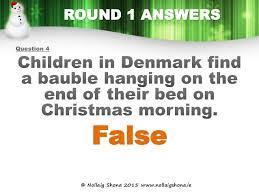 true or false christmas quiz 2015