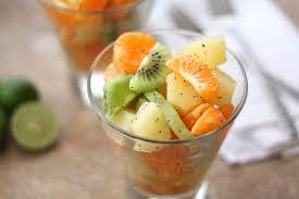 honey lime winter fruit salad barefeetinthekitchen com