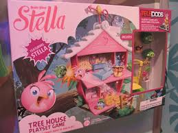 angry birds stella tree house playset game box purple pawn