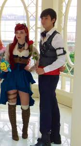 Mickey Halloween Costume Steampunk Ariel Eric Lulutetium Mickey Halloween Party