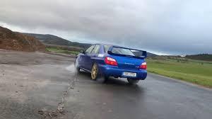 subaru wrx drift car subaru impreza wrx sti slow drift youtube