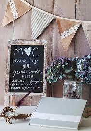 wedding sign in book ideas rustic wedding guest book ideas for fall weddings chalkboard