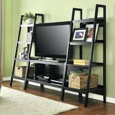 Ladder Style Bookcase by Tv Stand Tv Stand With Shelf Above Source Ergonomic Source 22