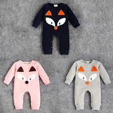 newborn jumpsuit samgami baby baby rompers cotton fox jumpsuits newborn baby