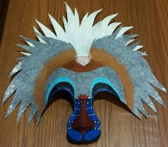 Lion King Halloween Costumes Lion King Mask Rafiki Dreamcolored Wedding