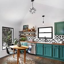 Green And White Kitchen Cabinets Best 25 Teal Kitchen Cabinets Ideas On Pinterest Turquoise