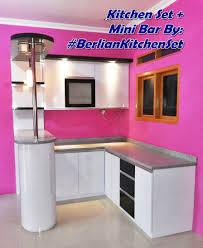 Kitchen Set Minimalis Untuk Dapur Kecil Berlian Kitchen Set Minimalis Murah
