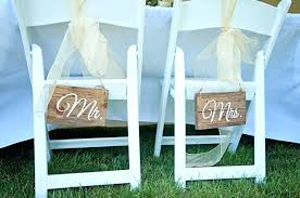 wedding chair signs wedding chair signs and groom wedding chair signs