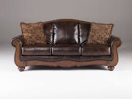 Ashley Leather Living Room Furniture Ashley Leather Sofa And Loveseat Descargas Mundiales Com