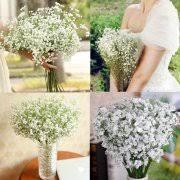 1pc bridal wedding bouquet flower arrangement home decorative