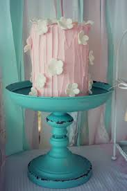 kara u0027s party ideas shabby chic pink and mint baby shower via
